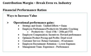 cash flow- the matrix